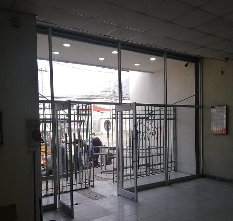 Tabiquería Vidriada Banco Estado Av. México