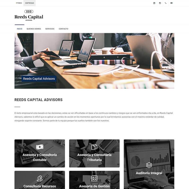 Página Web Reeds