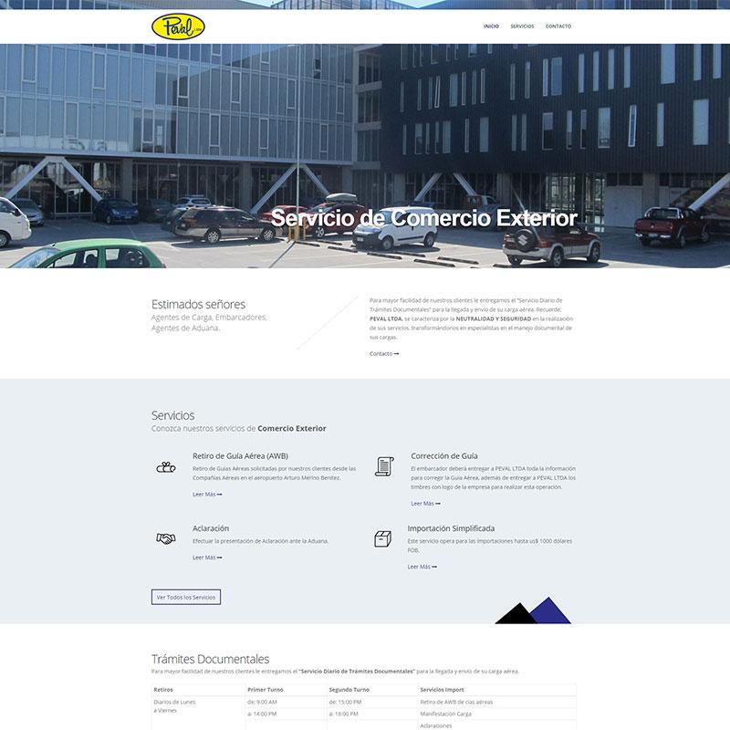Sitio Web Peval