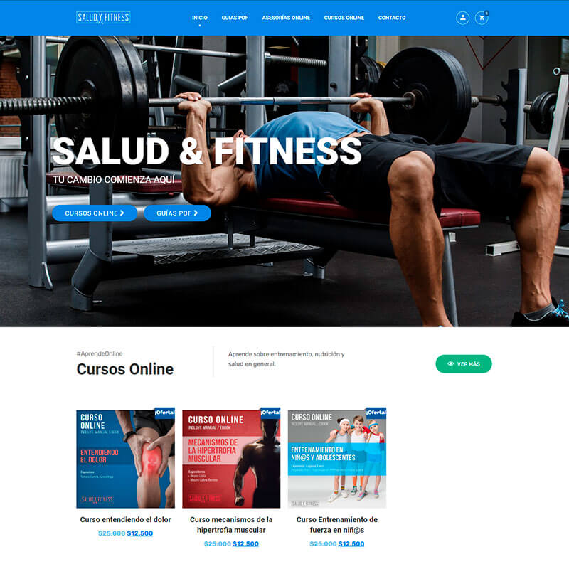 E-Learning Salud & Fitness