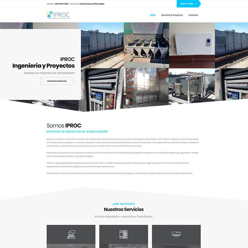 Página Web IPROC